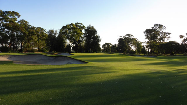 The 5th fairway at Commonwealth Golf Club