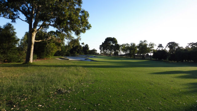 The 6th Fairway at Commonwealth Golf Club