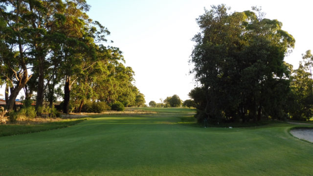 The 6th tee at Commonwealth Golf Club