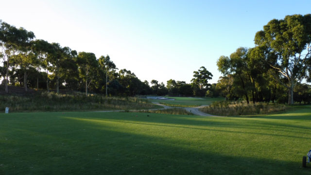 The 7th tee at Commonwealth Golf Club