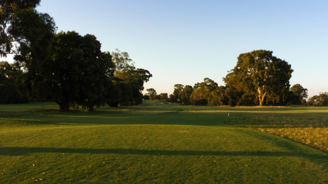 The 8th tee at Commonwealth Golf Club