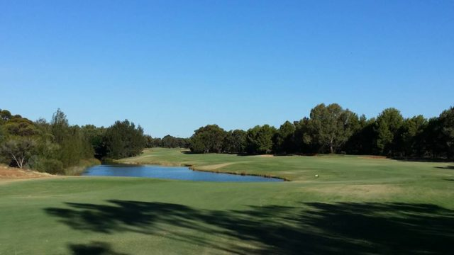 The 16th tee at Murray Downs Golf Country Club