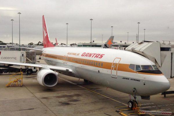 Qantas Retro Roo Plane