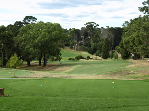 The 10th tee at Riversdale Golf Club
