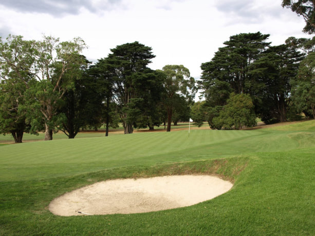 The 11th green at Riversdale Golf Club