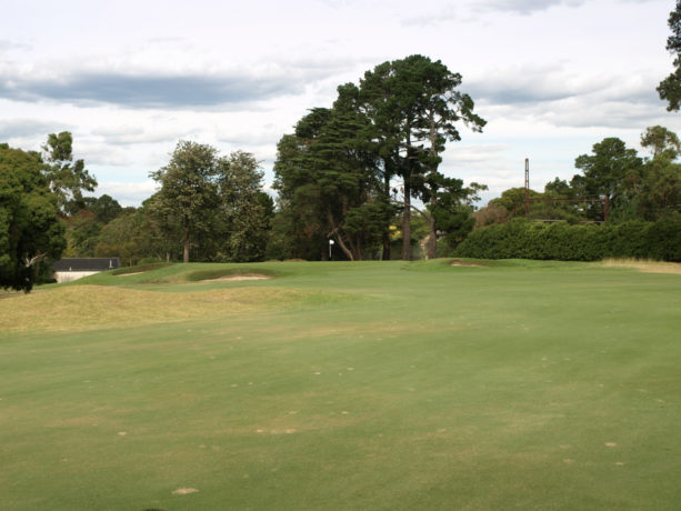 The 12th fairway at Riversdale Golf Club