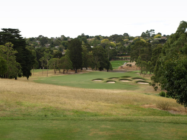 The 13th tee at Riversdale Golf Club