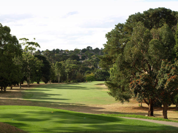 The 16th tee at Riversdale Golf Club