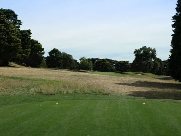 The 3rd tee at Riversdale Golf Club