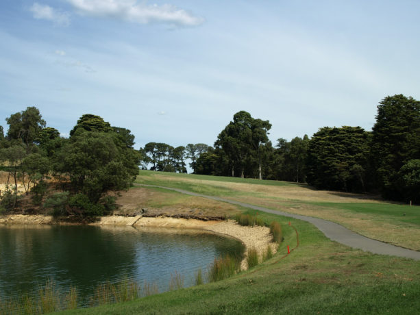 The 4th tee at Riversdale Golf Club