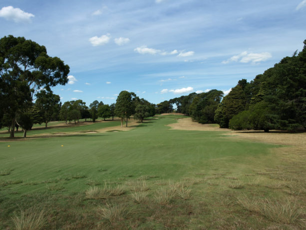 The 5th fairway at Riversdale Golf Club