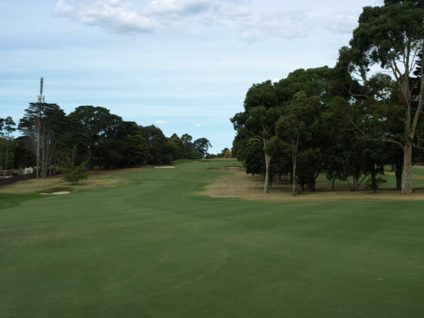 The 7th fairway at Riversdale Golf Club