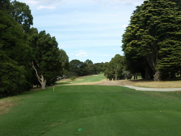 The 7th tee at Riversdale Golf Club