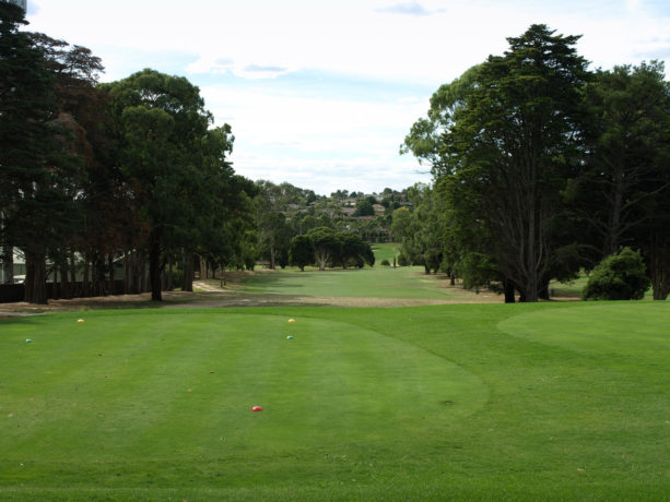 The 8th tee at Riversdale Golf Club