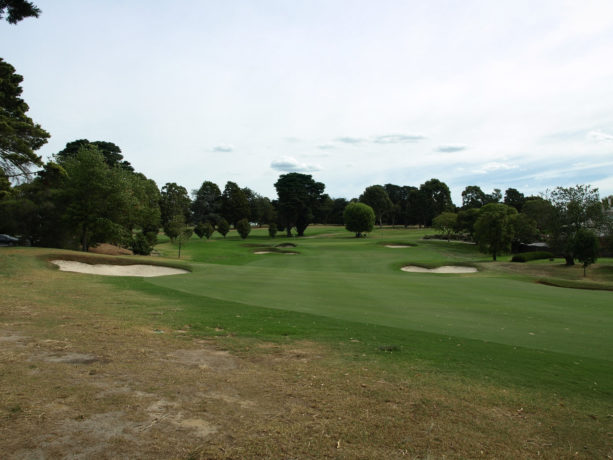 The 9th fairway at Riversdale Golf Club