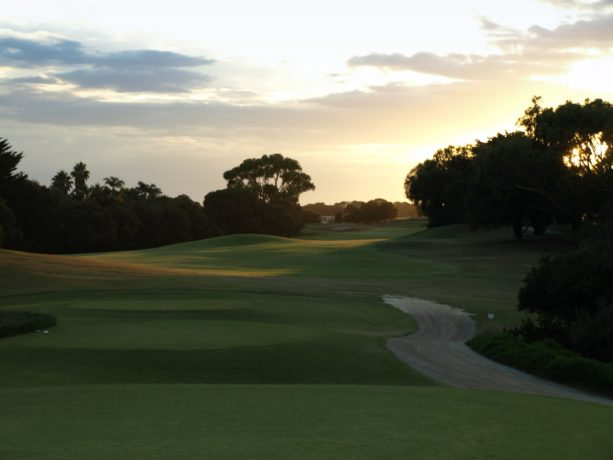 The 10th tee at Sorrento Golf Club