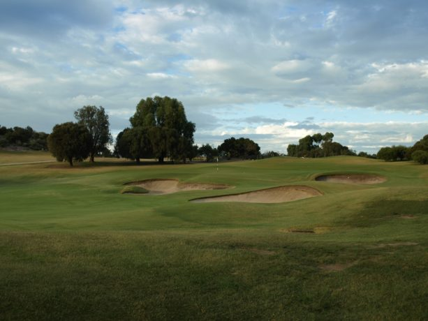 The 11th green at Sorrento Golf Club