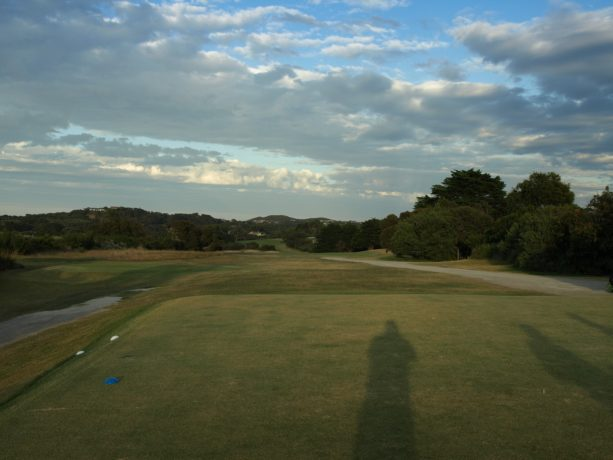 The 11th tee at Sorrento Golf Club