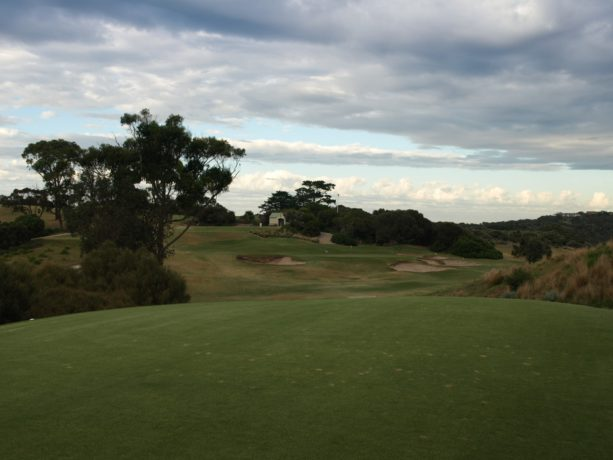The 13th tee at Sorrento Golf Club