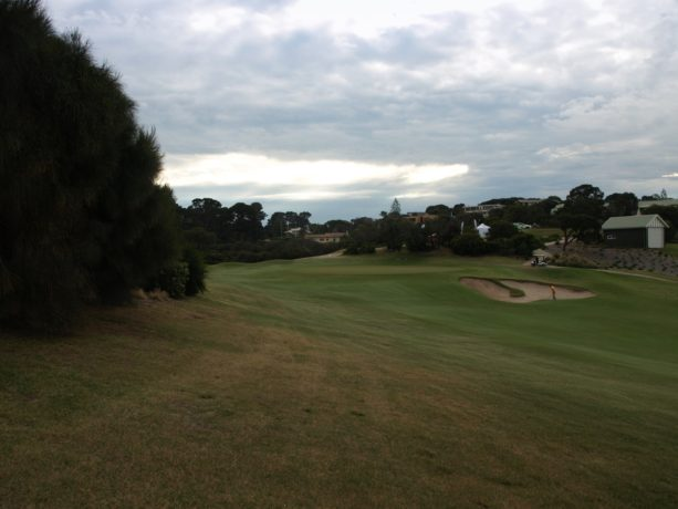 The 14th fairway at Sorrento Golf Club