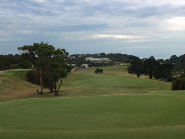 The 14th tee at Sorrento Golf Club