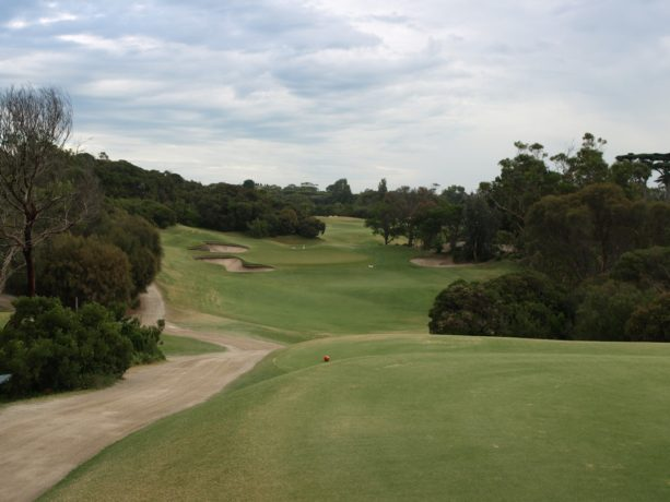 The 15th tee at Sorrento Golf Club