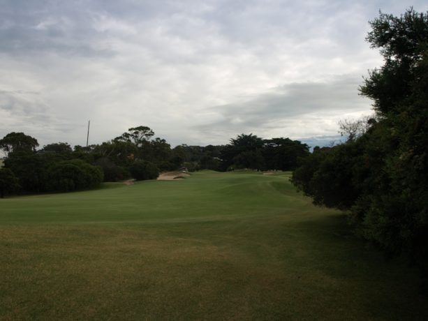 The 16th fairway at Sorrento Golf Club