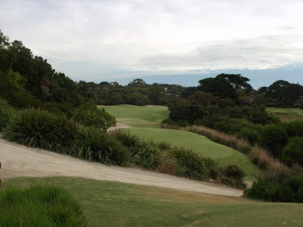 The 16th tee at Sorrento Golf Club