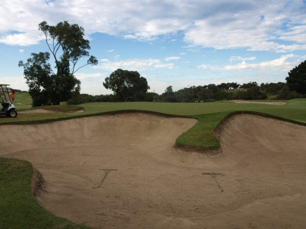 The 17th green at Sorrento Golf Club