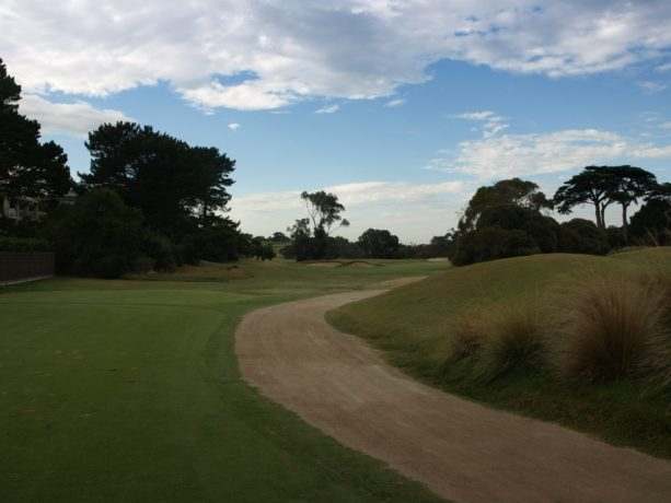 The 17th tee at Sorrento Golf Club