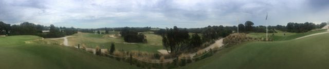 Panoramic view of Sorrento Golf Club
