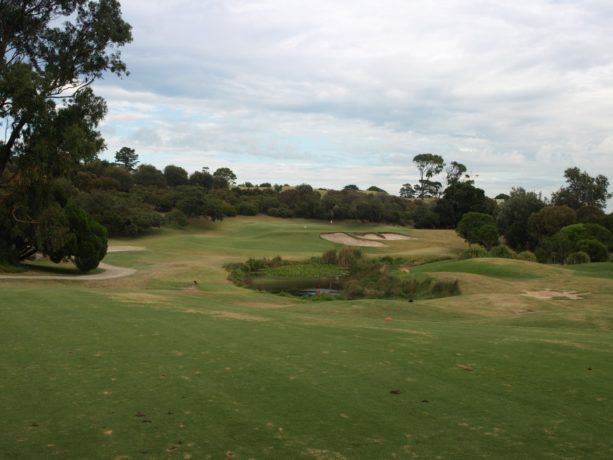 The 2nd tee at Sorrento Golf Club