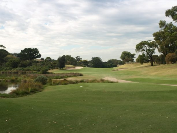 The 3rd tee at Sorrento Golf Club