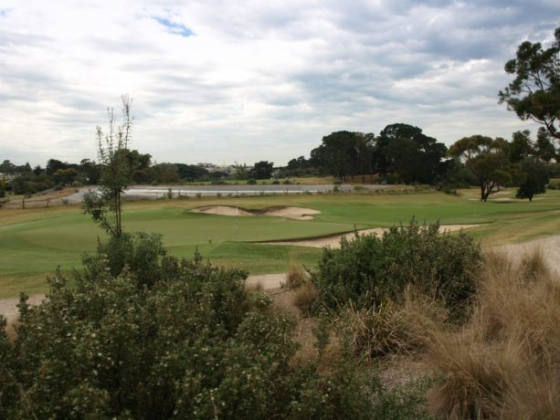 The 5th green at Sorrento Golf Club