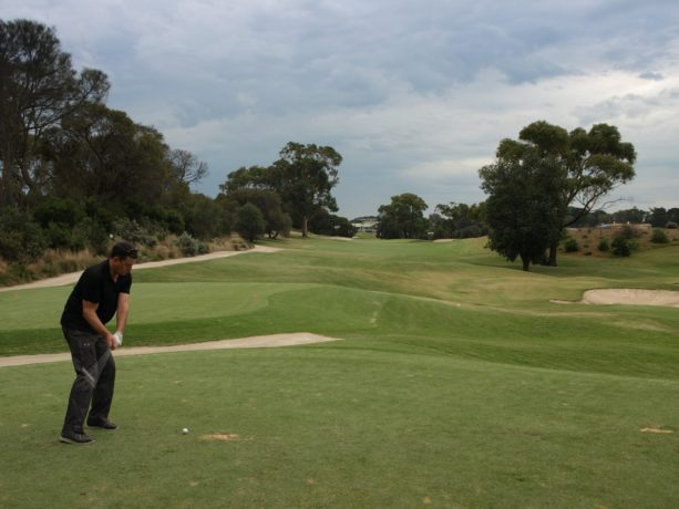 The 5th tee at Sorrento Golf Club
