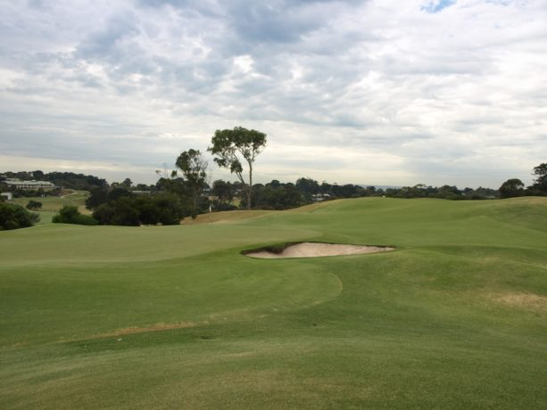 The 6th green at Sorrento Golf Club