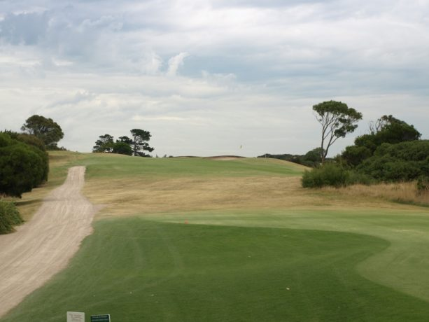The 6th tee at Sorrento Golf Club