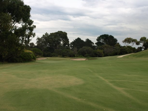 The 7th fairway at Sorrento Golf Club