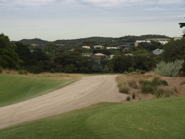 The 7th tee at Sorrento Golf Club