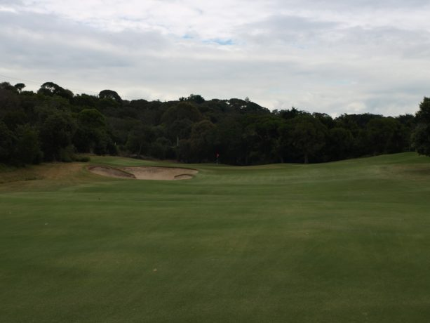 The 8th fairway at Sorrento Golf Club