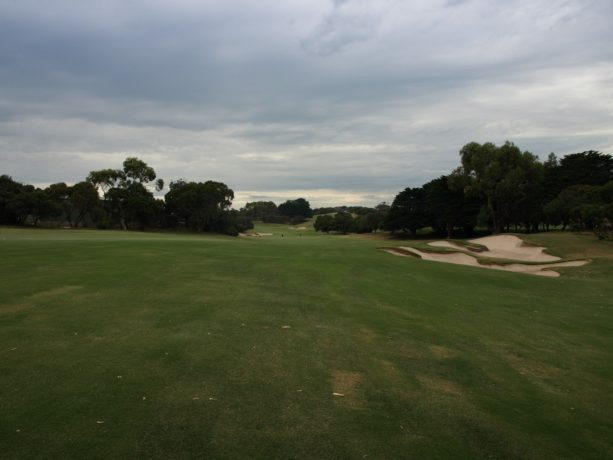 The 9th fairway at Sorrento Golf Club