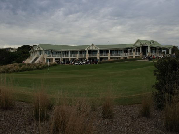 The clubhouse at Sorrento Golf Club