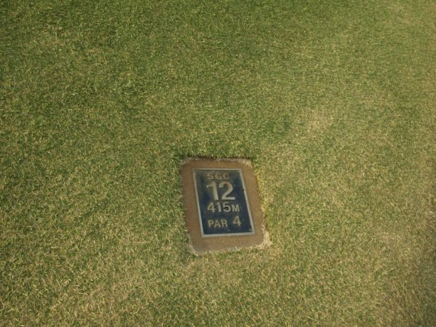 Tee Marker at Sorrento Golf Club