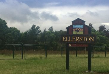 Sign for Ellerston