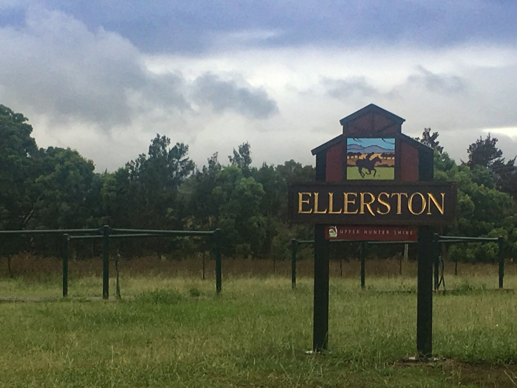 Sign for Ellerston