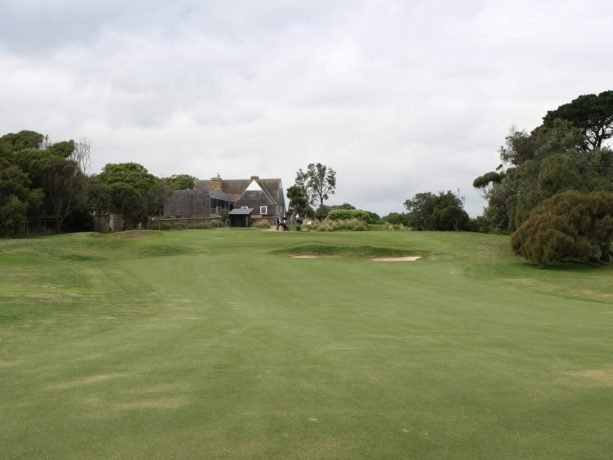The 10th fairway at Flinders Golf Club