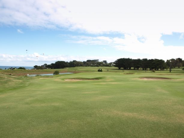 The 11th fairway at Flinders Golf Club