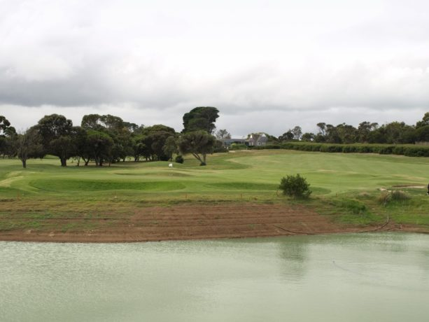 The 11th hole at Flinders Golf Club