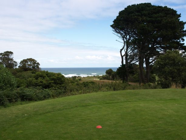 The 11th tee at Flinders Golf Club