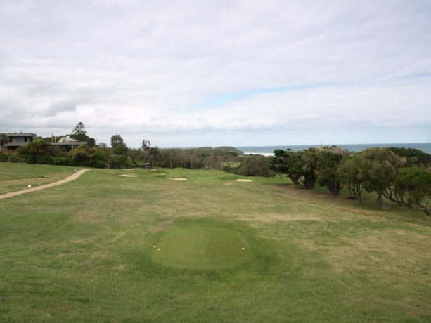 The 12th tee at Flinders Golf Club